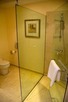 Hyatt Regency Thessaloniki Room Shower