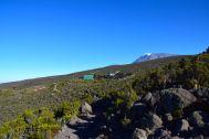 Leaving Horombo Hut