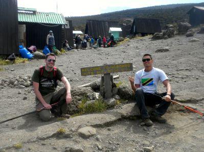 Kilimanjaro Horombo Hut Arrival