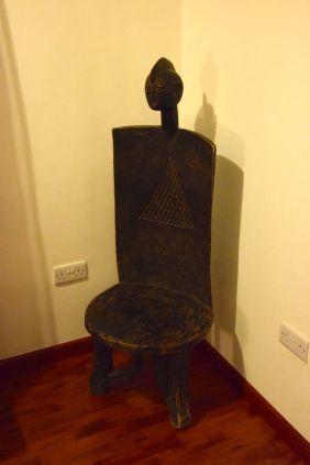 Local chair sculpture