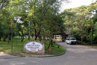 Sarova Mara Game Camp Entrance Road
