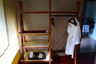 Sarova Mara Game Camp Tent Shelves