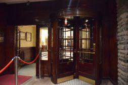 The original rotating door