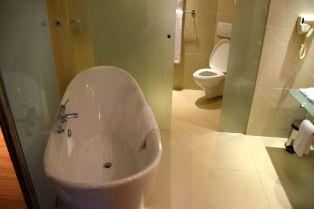 Tribe Room Bathroom Tub