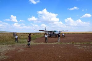 Flight to Keekorok Airstrip