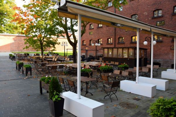 Hotel Katajanokka Outdoor Seating