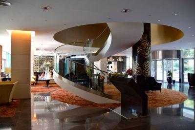 Kempinski Bratislava Lobby Staircase