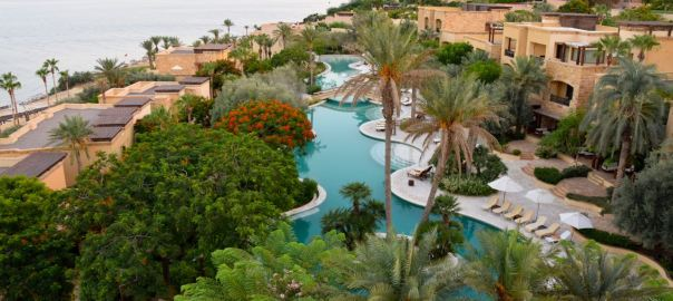 Kempinski Ishtar Dead Sea Resort Pool-2