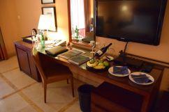 Kempinski Ishtar Dead Sea Room Table