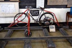 Nairobi Railway Museum Rail Bicycle