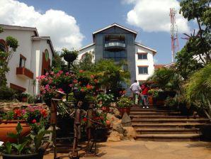 Nairobi The Village Market courtyard
