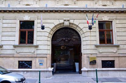 Palazzo Zichy Entrane