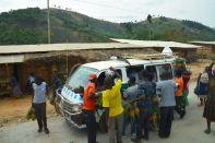 Drive to Kampala Fruit Vendors