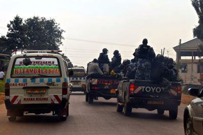 Kampala City Police Cars