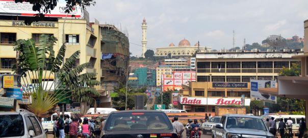 Kampala City Traffic