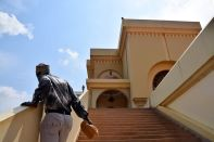 Kampala Uganda National Mosque Stairs