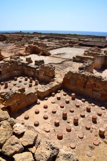Paphos Archaeological Park Column Ruins