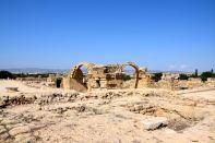 Paphos Archaeological Park Saranta Kolones Fortress
