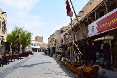 Souq Waqif Doha Street