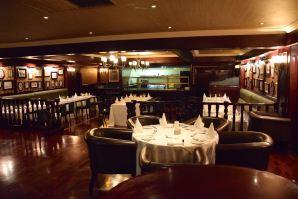 The landmark Mahogany's Restaurant
