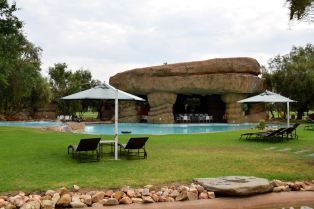 Windhoek Country Club Resort Pool and Bar