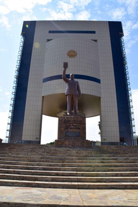 Windhoek Independence Memorial Museum Sam Nujoma Statue