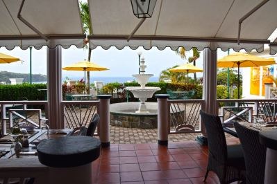 Grenadine House Restaurant View