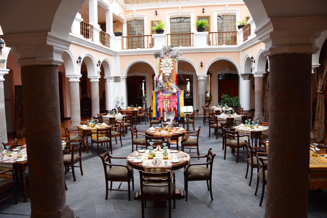 Experience: Hotel Patio Andaluz, Quito