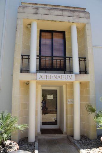 Corinthia Palace Hotel & Spa Room Spa Entrance