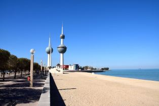 Kuwait Towers Beach