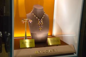 Excelsior Hotel Gallia Lounge Bulgari Jewels
