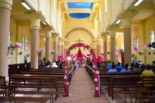 Bamako Cathédrale du Sacré Cœur Interior