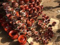 Bamako Market Pots