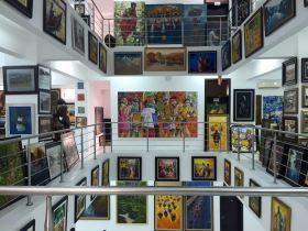 Nigeria Nike Art Gallery Paintings