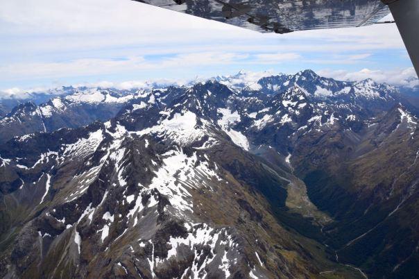 New Zealand Milford Sound Flight