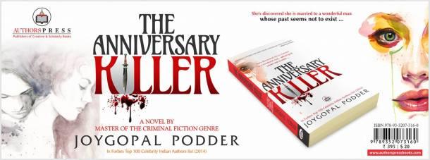 Cover of The Anniversary Killer by Joygopal Podder