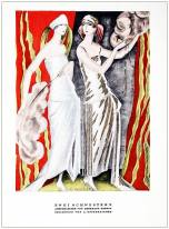 German Art deco costumes 1920s. Roaring twenties fashion. Gibson Girls clothing. STYL Fashion Magazine.