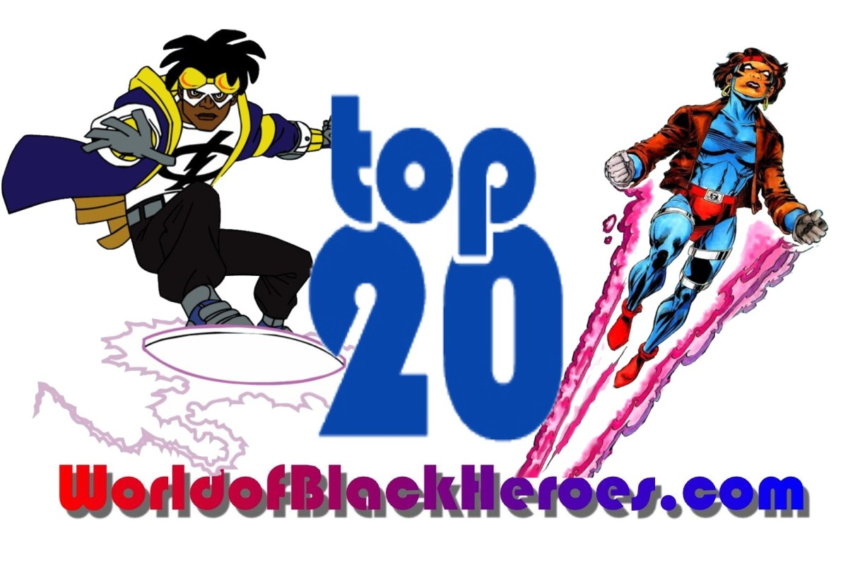 Top 20 Black Superheroes-Milestone Edition