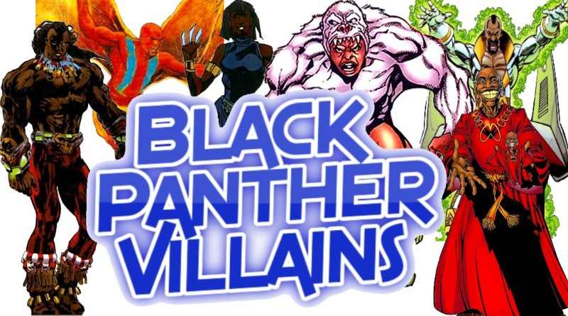 Black Panther Villains