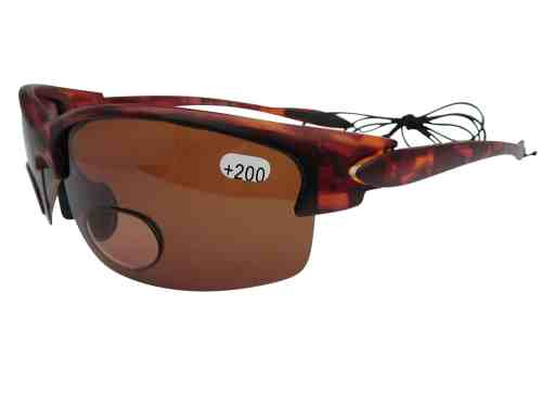 Hunter Polarised Bifocal Sports Sunglasses in Amber