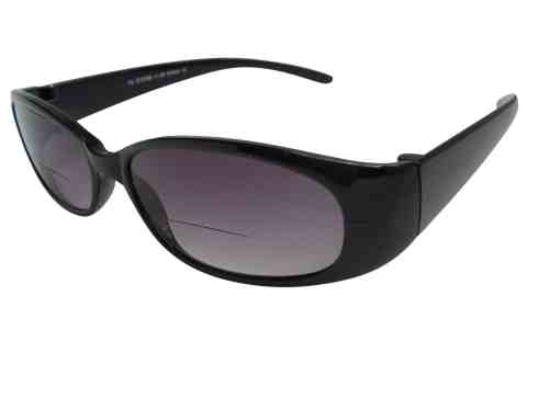 Reina Bifocal Sunglasses in Black
