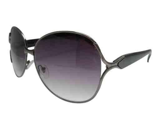 Gracie Oversized Sun Readers in Black