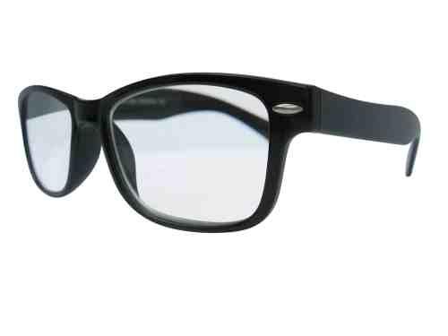 Wayfarer Reading Glasses in Black