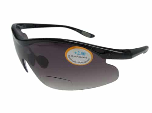 Speedy Running Bifocal Sunglasses in Smoke