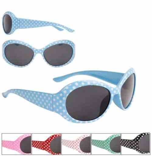 Girls Fashion Dotty Hepburn Style Sunglasses
