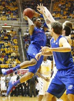 Kansas Jayhawks Basketball 2013 Photo