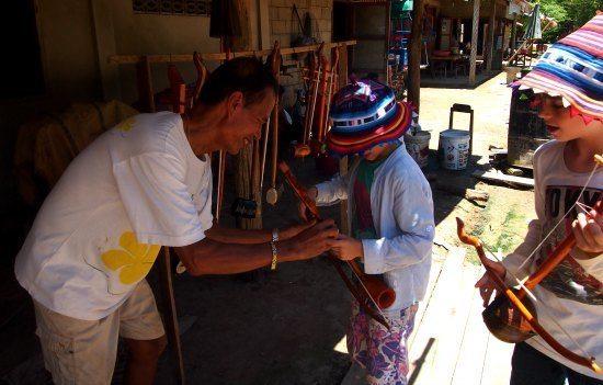 Craftsman village Pak Ou Luang Prabang