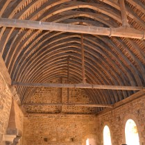 Medieval castle roof