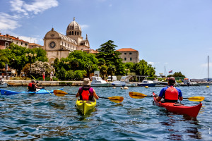 Kayaking in Sibenik Croatia