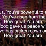 We Sing – Sovereign Grace